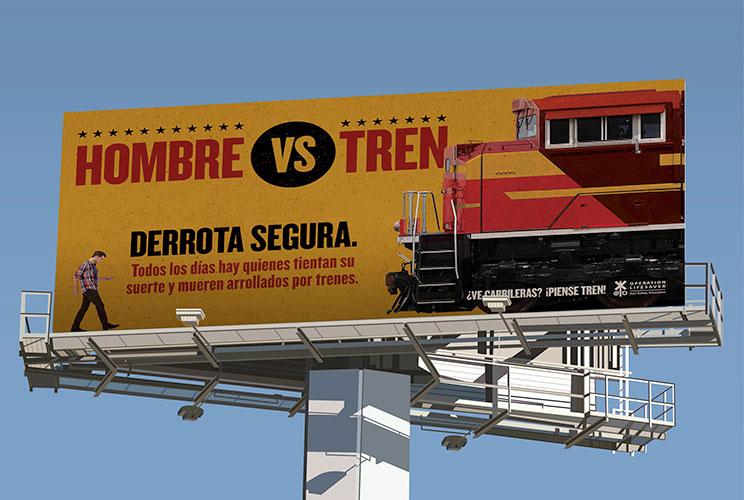 See Tracks? Think Train!